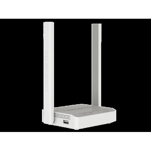 Маршрутизатор беспроводной Keenetic 4G (KN-1210) N300 10/100BASE-TX/4G белый KEENETIC