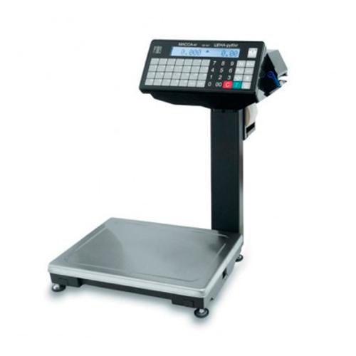 Весы с печатью этикетки МАССА ВПМ-15.2-Ф1 (с подмоткой ленты)